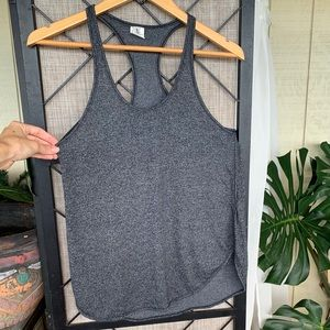Zine Dark Grey Tank Medium